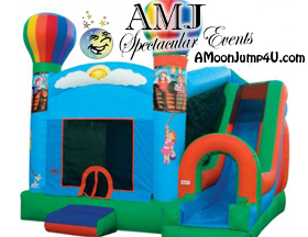 Entertain all your guests with fun inflatables available from Fall Themed Rentals 4 U!